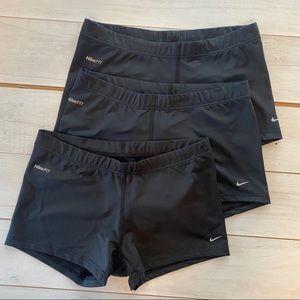 Nike Women Dri fit Volleyball Shorts Blk S Set/3